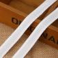 厂家直销 5分白格子绒丝带 美丽织带肩带绒彩带 衣服辅料饰品缎带