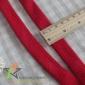 空心织带 2cm红色全棉双层空心扁带 运动鞋带抽绳束口带 服装辅料